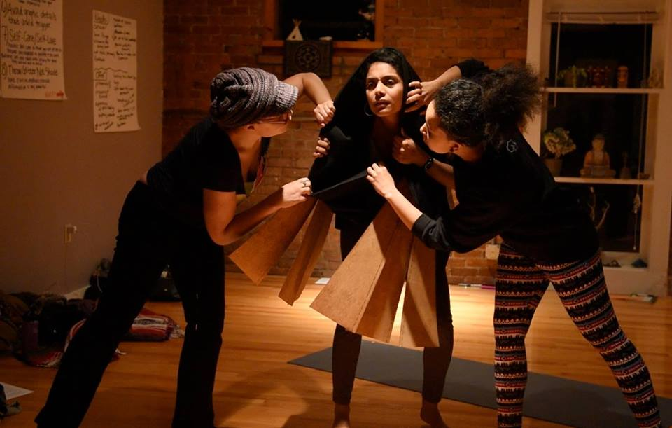 Community Share Performance – Moving Towards Liberation: Healing and Resisting Sexual Harassment through Dance & Design