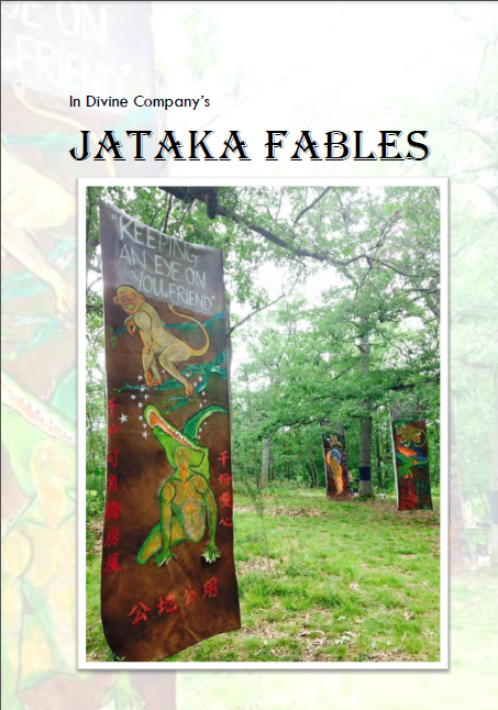 Jataka Fables performance art + installation catalogue
