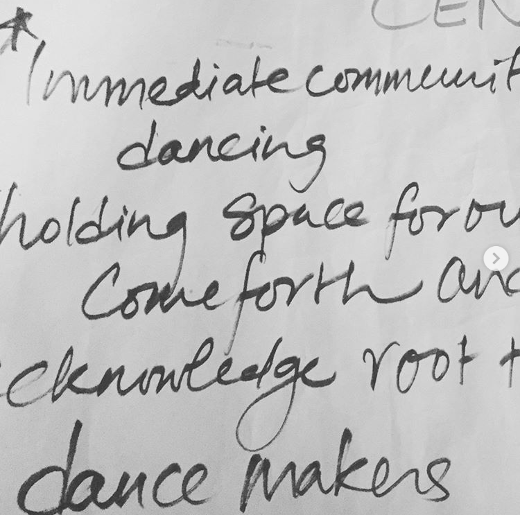 dance in community language protocols