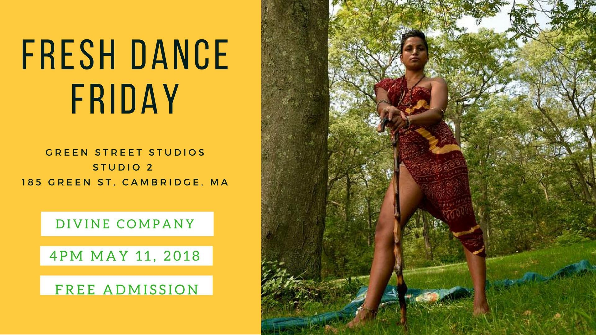 Fresh Dance Fridays @ Green Street Studios – Open Rehearsal